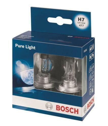 W210, 211, 212 1995/>2002 2x Bosch H7  Car Headlamp Bulb 12V Mercedes E-Class