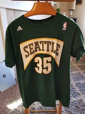 brand new 80da0 ab6cb Adidas Seattle Supersonics Kevin Durant T-Shirt | eBay