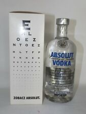 Absolut Vodka alte Version + Original box !!! 700ml - 40%. Limited Edition Old