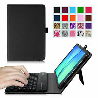 Bluetooth Keyboard Folio Stand Case Cover For Samsung Galaxy Tab A 8.0 8-inch