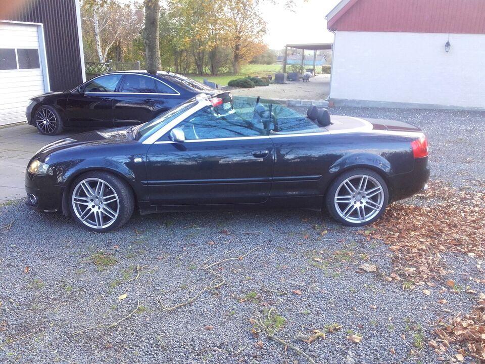 Audi A4, 2,4 V6 Multitr. Cabriolet, Benzin