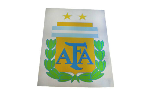 ARGENTINA AFA LOGO FIFA WORLD CUP X LARGE STICKER . 8.25 X 11.75 INCH