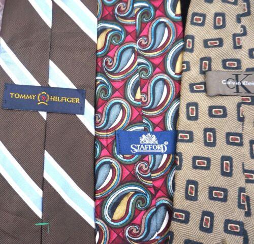 NEW Bulk Men/'s Designer Neckties Ties Lot of TWENTY-FIVE Wholesale