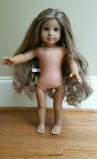"AMERICAN GIRL DOLL 18"" GIRL of the year 2011 KANANI Nude GOTY RETIRED"