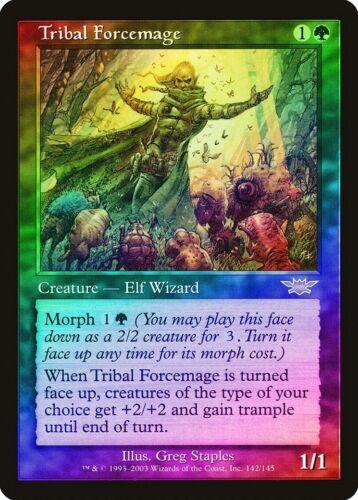 Tribal Forcemage FOIL Legions HEAVILY PLD Green Rare MAGIC MTG CARD ABUGames
