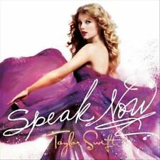 TAYLOR SWIFT - Speak Now (CD, Oct-2010, Big Machine Records) Original 2010 RARE