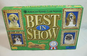 AMERICAN KENNEL CLUB PRESENTS - BEST IN SHOW - DOG SHOW BOARD GAME