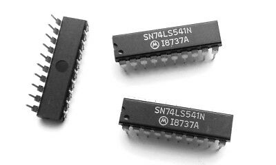 5 x SN74LS541N Octal Buffers and Line Drivers with 3-State Out TI DIP-20 5pcs