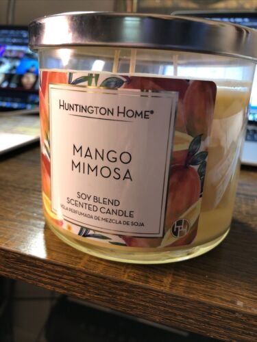 Mango Mimosa Huntington Home Soy Blend Scented Candle