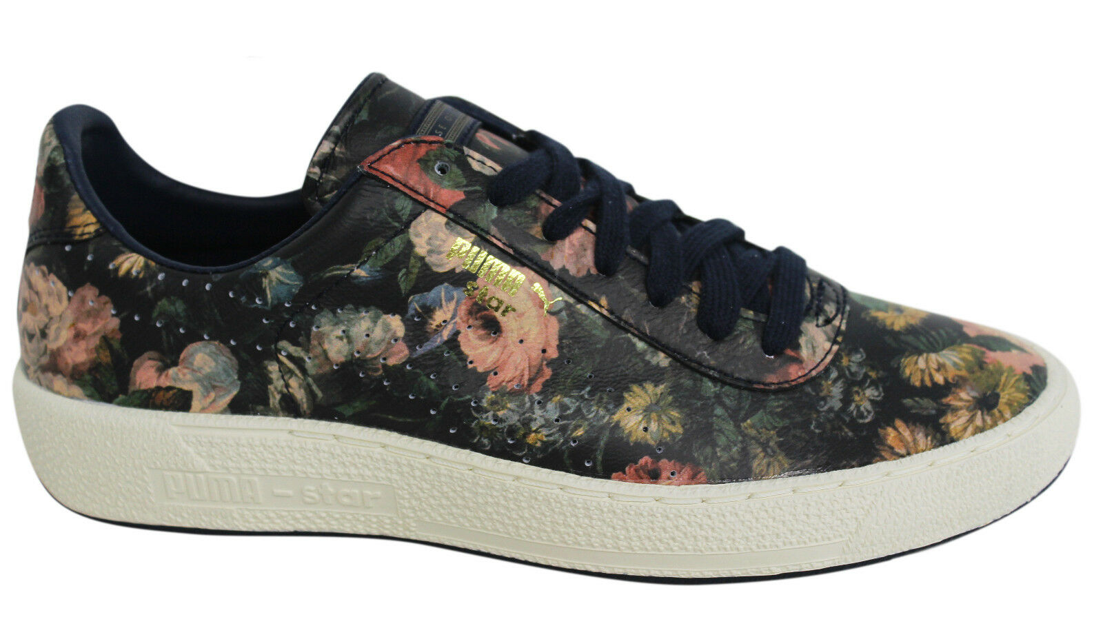 75ef4c52dd PUMA Star X House of Hackney HOH Uomo Lace Up Leder Trainers 358466 01 M9