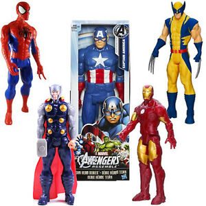 12-034-Marvel-Avengers-Super-Hero-Action-Figure-Jouet-capitaine-Spider-Man-THOR-Cadeau