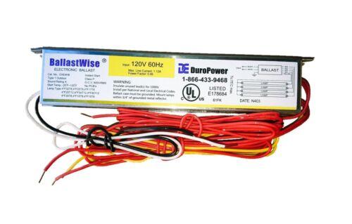 BALLASTWISE DXE4H8S BALLAST FOR 4 F32T8 F25T8 T8 F24T12 T12 Bulbs Tubes 120V