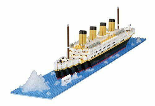 Kawada NB-021 nanoblock Real Hobby Series Titanic F//S