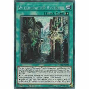 Yu-Gi-Oh! TCG- Witchcrafter Bystreet - INCH-EN024 - Secret Rare Card 1st Edition Zcdoxevm-09162117-813270079
