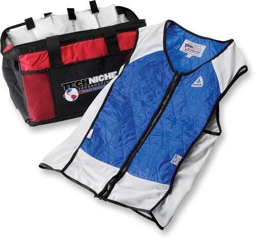 Hyper Kewl Hybrid Elite Sport Cooling Vest Blue X-Large 4531BLXL 2830-0327