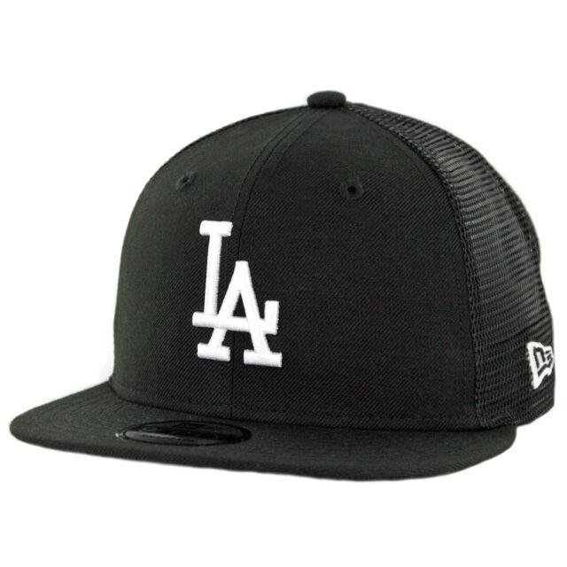 DIAMOND Los Angeles Dodgers New Era Adjustable Trucker Cap