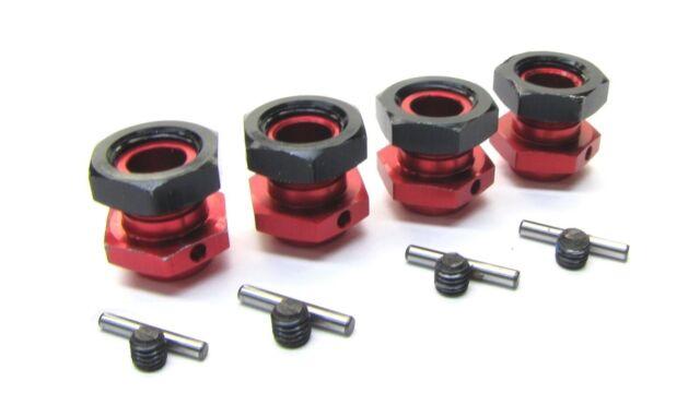 Aluminum Red Mount Motor//center diff Kraton AR106044 Arrma NOTORIOUS 6s BLX