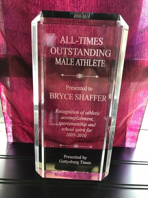 9 1 2   Acrylic Award Employee of Month Retirement Sports Plaque-FREE Engraving