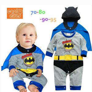 image is loading new top quality baby grow bodysuit batman bat