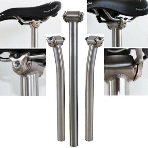 27.2 30.9 31.6 Titanium alloy MTB Bicycle Mountain Bike Ti Seatpost 350mm 400mm