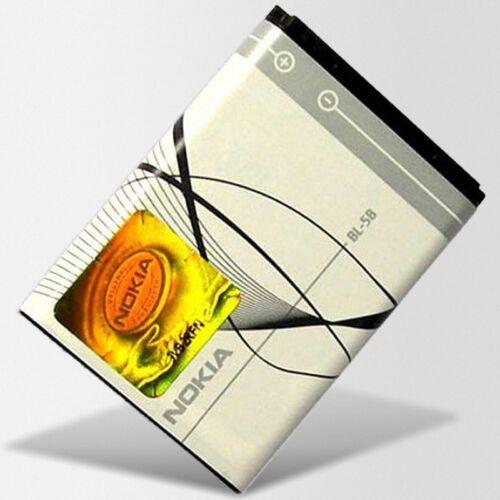 Original Nokia batería bl-5b ~ 6020 6060 6070 6080 6120 Classic 7260 7360 n80 n90
