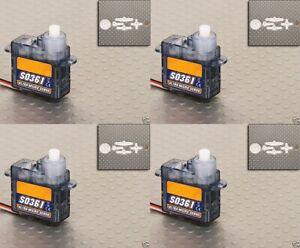 S0361-Ultra-Micro-Servo-nano-feather-Servos-3-6g-45kg-12sec-RC-Plane-orangeRX