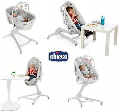 Multifunctional Crib Chicco Baby Hug 4in1 glacial