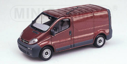 Minichamps 430040561 Opel Vivaro coche recuadro 2001-1:43 #neu en OVP #
