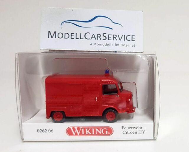 Wiking 1//87 h0 026206 furgonetas Citroën hy bomberos-nuevo embalaje original
