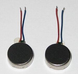 2-X-Vibrator-Flat-Micro-Motor-1-to-3-6-VDC-Cellphones-Beepers-Mini-Vibrators