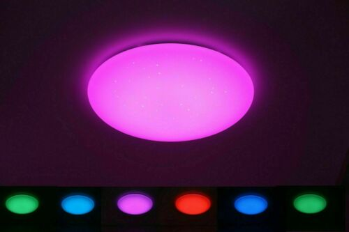 Dimmable LED Ceiling Light 30w 90w Ceiling Light RGB Color Changing Wall Lamp 500r