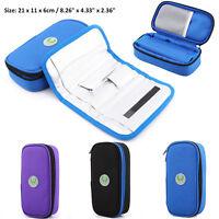 Portable Insulin Cooler Bag Diabetic Organizer Medical Travel Ice Pack Hot im