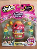Shopkins Tropical Collection Exclusive Fashion Spree Hula Hut Playset