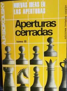 Libro ajedrez Nuevas ideas en las aperturas cerradas Tomo III de A.P. Sokolsky