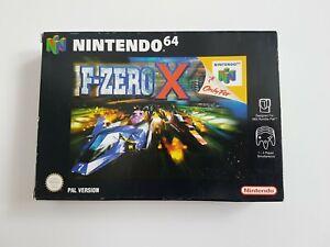 F-Zero X-Nintendo 64 N64 Juego - [UKV PAL CIB] En Caja Con Manual