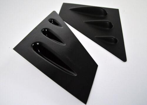 4-Door FOR SUBARU WRX STI SEDAN ABS MATTE BLACK WIDOW LOUVER VENT 15-19