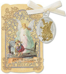 Wonderful St Michael Archangel Guardian Angel Medal Charm