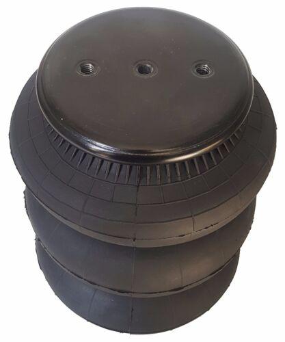 "four triple bellow 2600 air bag 1//2/""npt single port ride springs bags suspension"