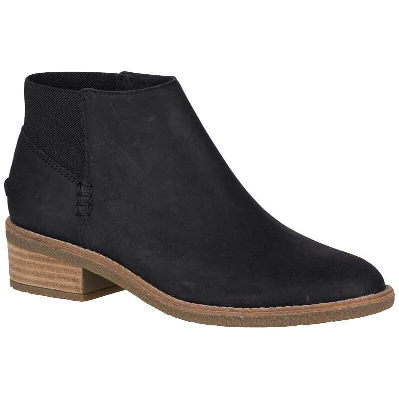Sperry Top-Sider Women's Maya Lani Leather Chelsea Booties Black, Pick A Size