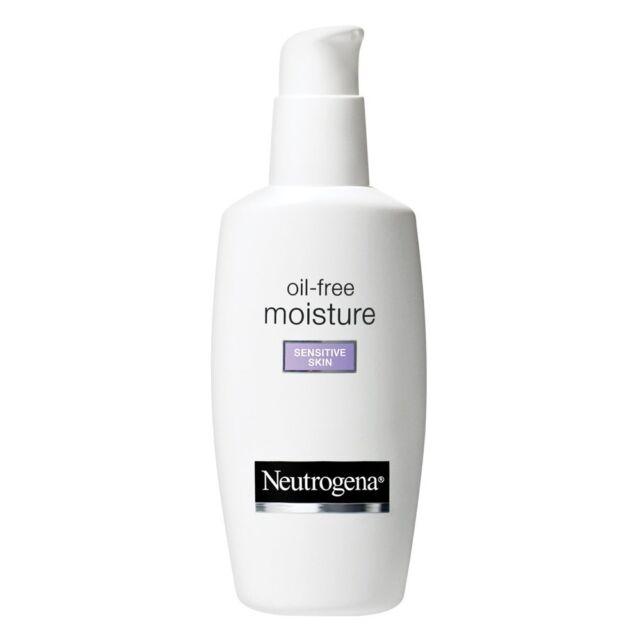 Neutrogena Oil-Free Moisture Sensitive Skin 4 Fl. Oz
