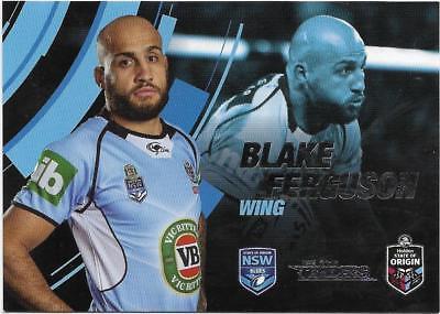 Blake FERGUSON NSW 2018 NRL Traders State of Origin Stars SOO 4