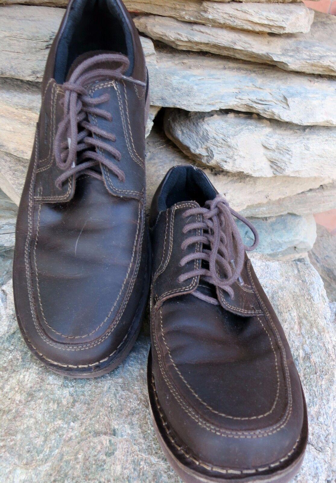 Clarks 13M Brown Men shoes Oxfords
