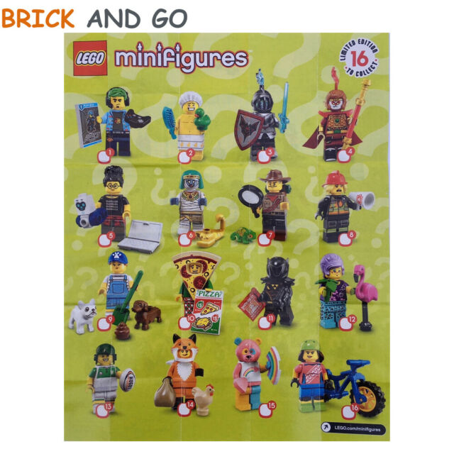 LEGO Minifig Figurine Minifigure 71025 Série 19 Series 19 Au Choix NEUF NEW