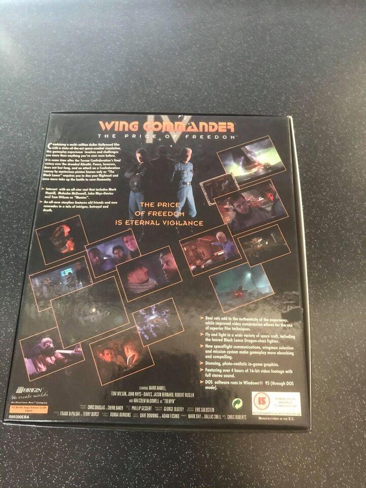 Wing Commander 4, til pc, adventure