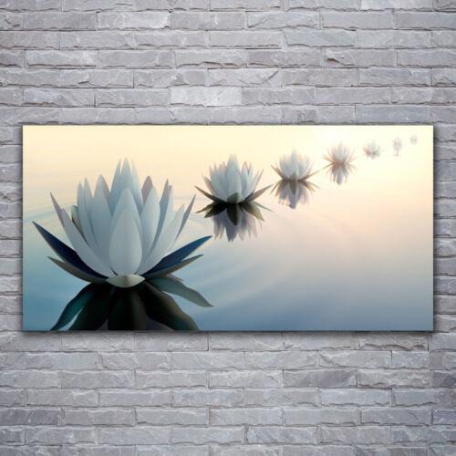 Glasbilder Wandbild Druck auf Glas 120x60 Blumen Pflanzen