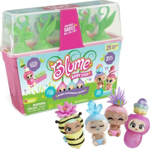 Blume BABY POP SERIES 1 Mystery doll Pack combien de bébés vont vous Pop???
