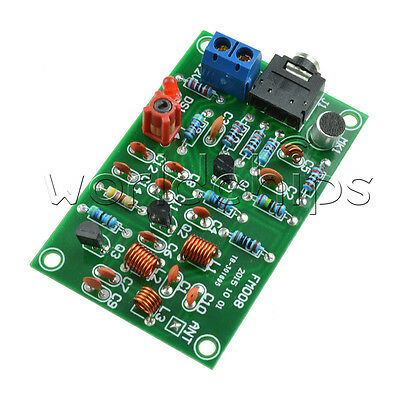 76-110MHz FM Radio Transmitter Repeater MP3 Audio Wireless Transmitter Module WC