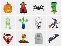 NEW 144 ASSORTED HALLOWEEN TEMPORARY TRANSFER TATTOOS PARTY BAG FILLER 12 Pks HB
