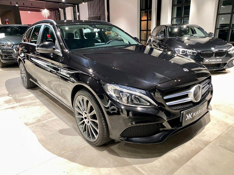 Mercedes C220 d 2,2 Business stc. aut. 5d - 314.000 kr.