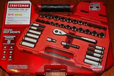 NEW Craftsman 38 pc Inch/Metric Universal Tool Set with Case